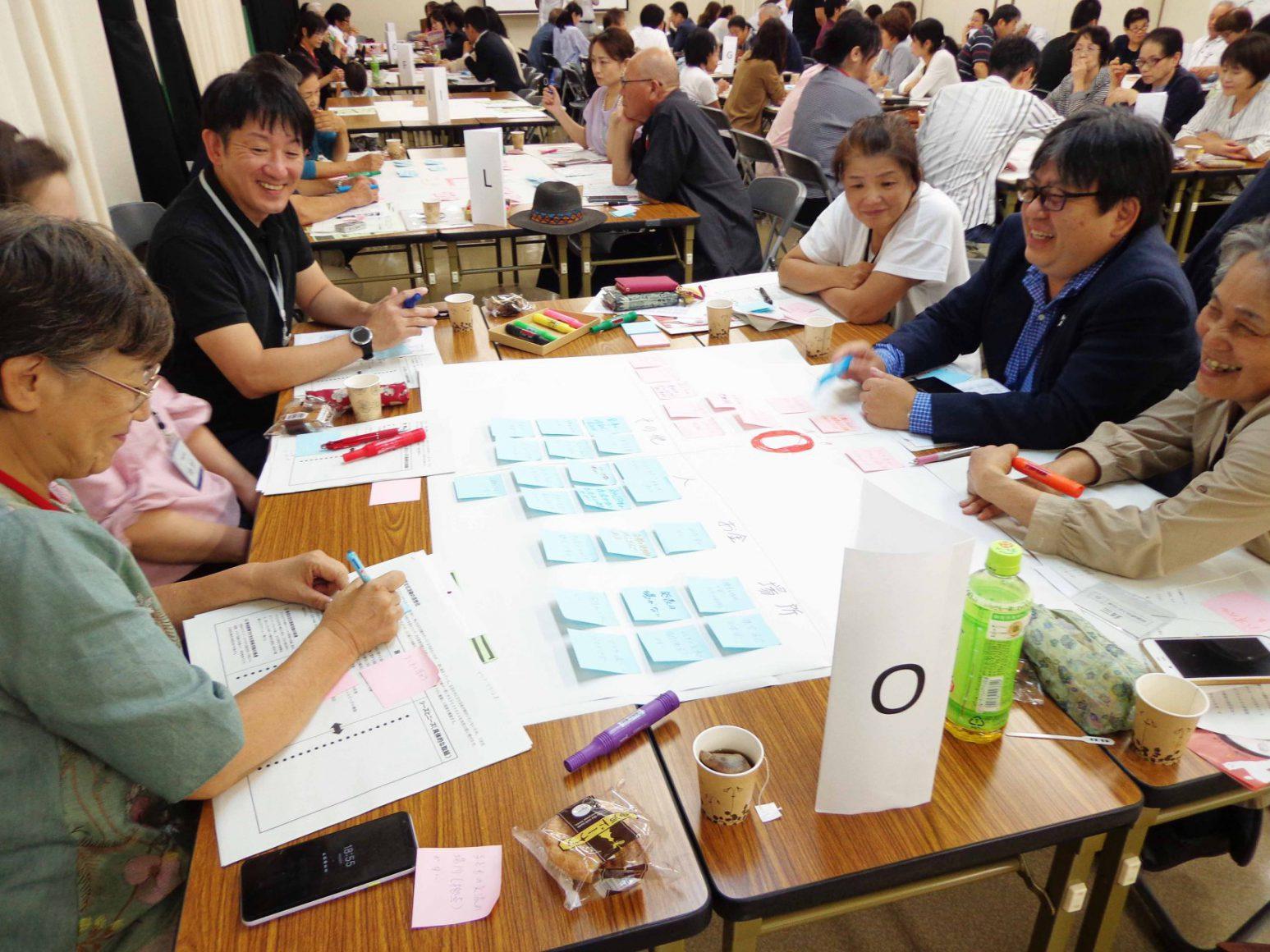 門真市民プラザ教育センターにて「門真市文化芸術推進基本計画」100人会議を開催