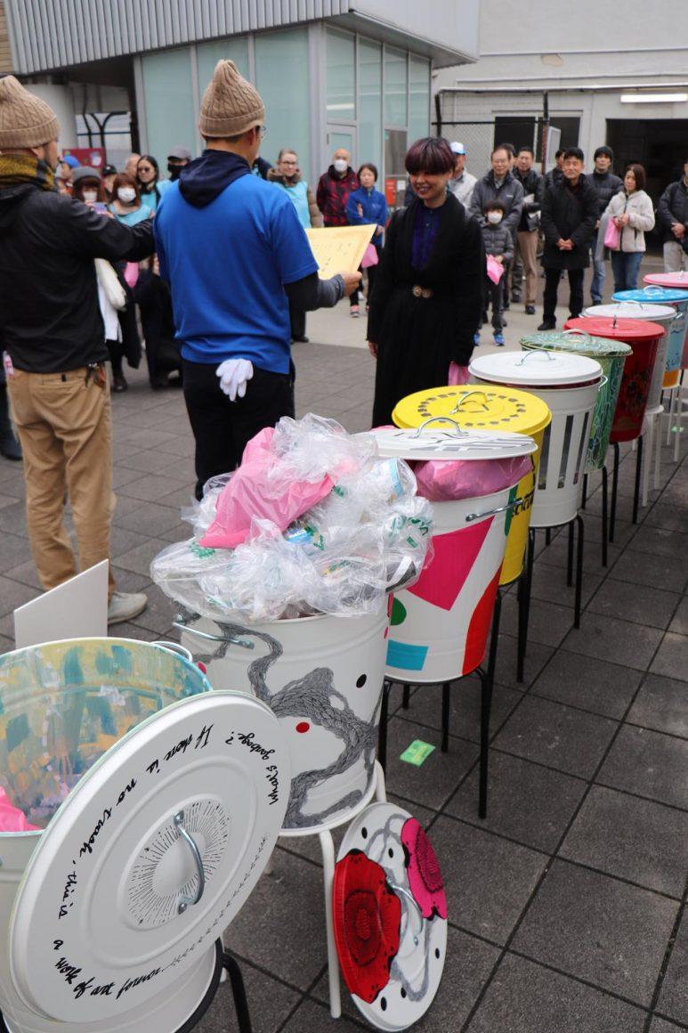 「ごみゼロアートウォーク桜川 2020年2月15日」開催レポート